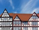 Thumbnail Half-timbered houses in the market square of Eschwege, Werra-Meissner district, Hesse, Germany, Europe