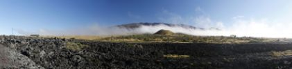 Thumbnail Panoramic view with the Mauna Kea volcano, Big Island, Hawaii, USA