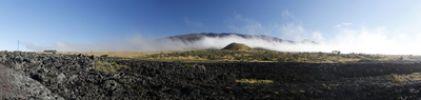 Thumbnail Panoramic view with the Mauna Kea volcano, Big Island, Hawaii, USA