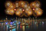 Thumbnail Dadaocheng fireworks, Taiwan, China, Asia