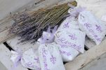 Thumbnail Dried lavender, sachets with lavender flowerheads