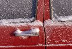 Thumbnail Icy car door, detail /