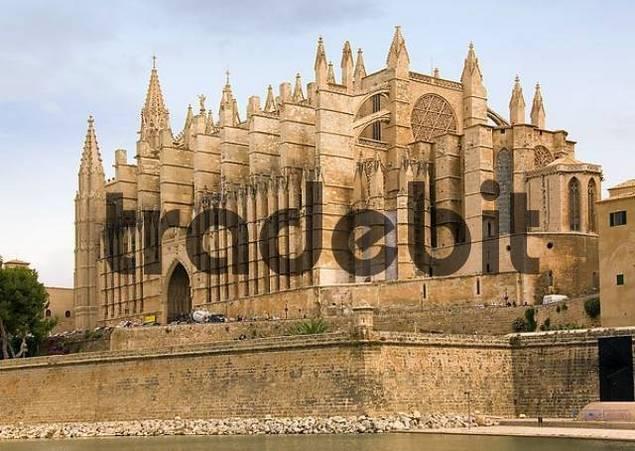 Majorca, cathedral of Palma