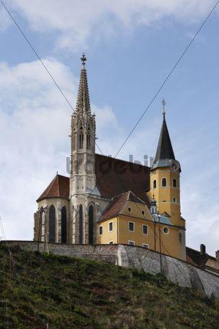 Maria Stassengel pilgrimage church in Judendorf-Strassengel, Styria, Austria, Europe
