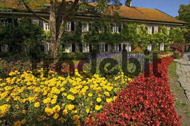 garden in Ayingen Upper Bavaria Germany