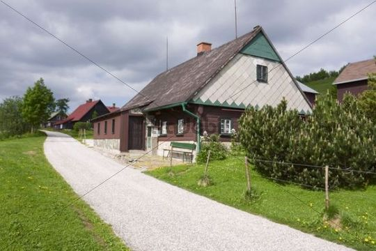 Mala Upa, Krkonose National Park, East Bohemia, Czech Republic, Europe