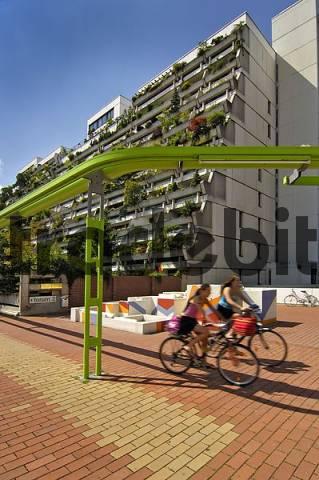 high-rise flats Olympiadorf Olympia village Munich