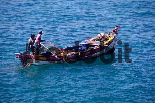 Fishing boat, Algarve, Portugal