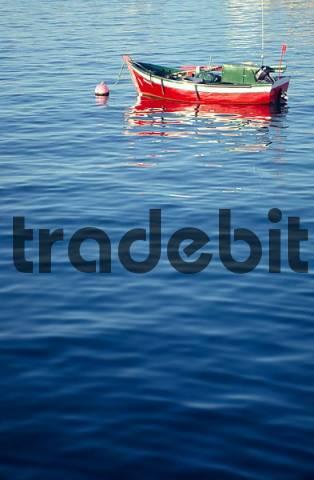 Fishing boat, Sagres, Algarve, Portugal