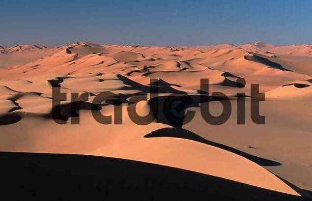 Sand Dunes, Sahara, Erg Murzuk, Libya