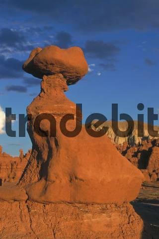 Sandstone Formation, Goblin Valley, Utah, USA