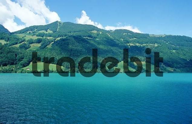 Lake Lauenen, Bern, Switzerland