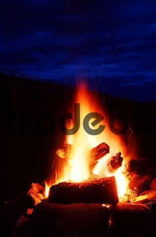 Camp Fire, Alaska, USA