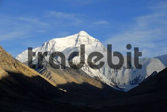 Mt. Everest Chomolungma Tibet China