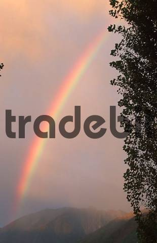Rainbow, Locarno, Ticino, Switzerland