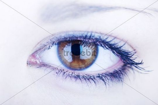 Eye, woman, gothic, close-up