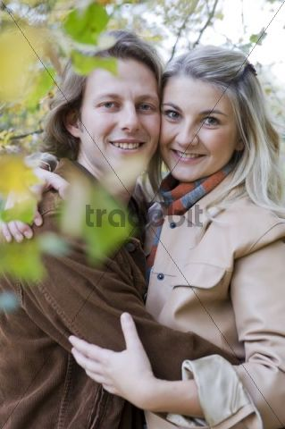 Lovers in autumn