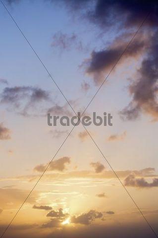 Sunset, Morocco, Africa