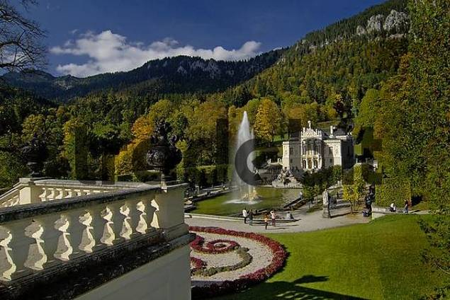 Linderhof Palace Bavaria Germany