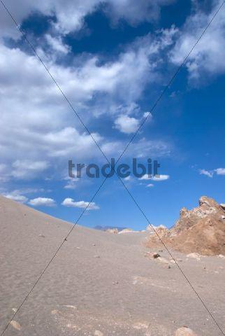 Valle de la luna, Moon Valley, Atacama Desert, Chile, Soth America