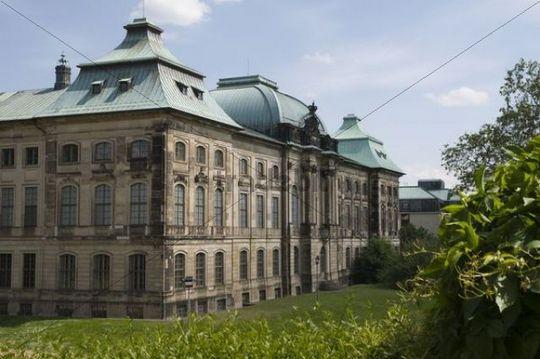 Neustadt, Japanisches Palais, ehem. Holländisches Palais, Dresden, Sachsen, Deutschland