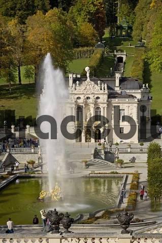 Linderhof Palace Bavaria Germany
