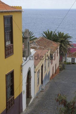 Calle Plaza, San Andrés, La Palma, Canary Islands, Spain