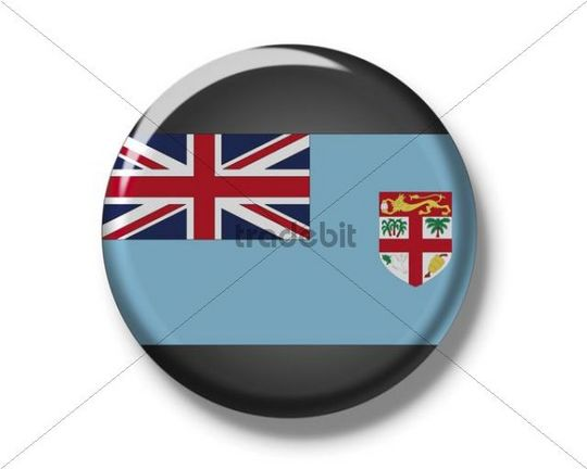 Button, flag of Fiji