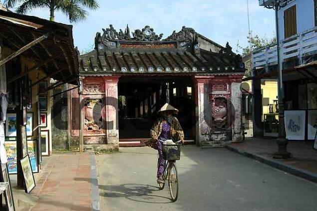 Japanese bridge Hoi An Viet Nam