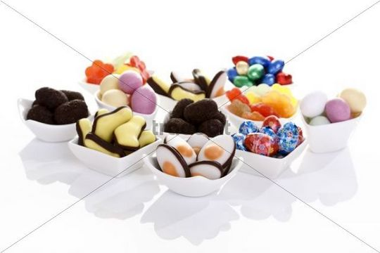 Various kinds of easter sweets
