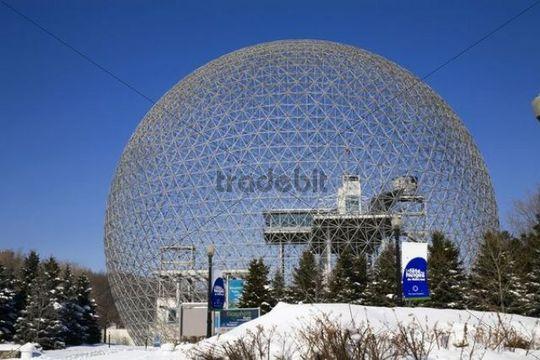 Biosphere Montreal, Quebec, Canada
