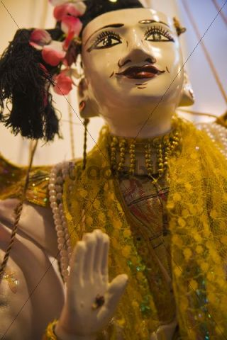 Marionette from Yamanai wood, Myanmar, South East Asia