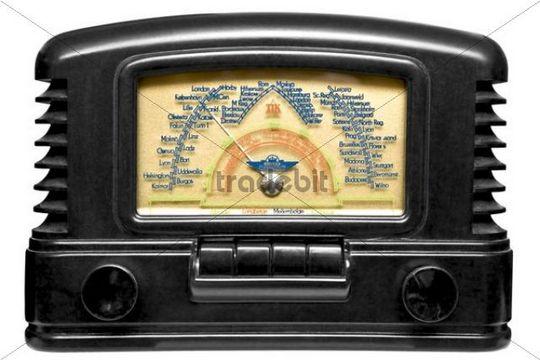Old black radio