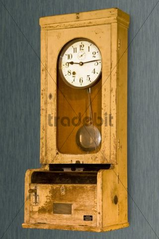 Old time punch clock