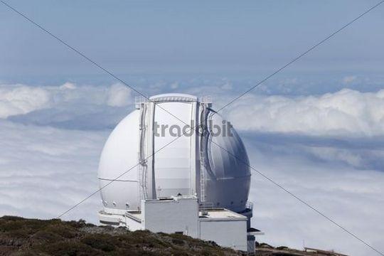 Observatory on Roque de los Muchachos, La Palma, Canary Islands, Spain