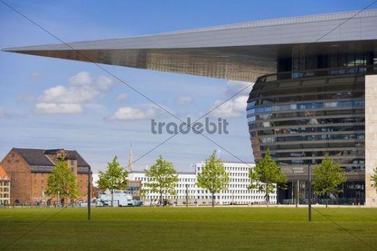 The Opera House in Copenhagen, Denmark, Europe