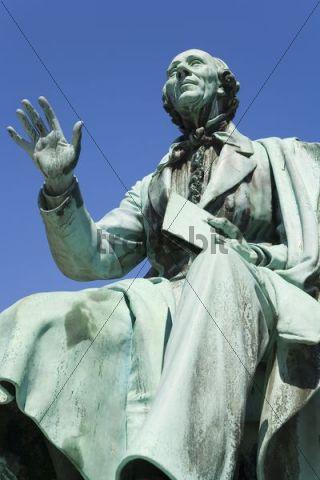 Statue of Hans Christian Andersen, Copenhagen, Denmark, Europe