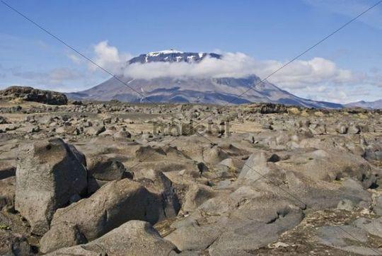 """Mountain Herdubreid, """"broad shoulders"""", Herdubreid, Iceland"""