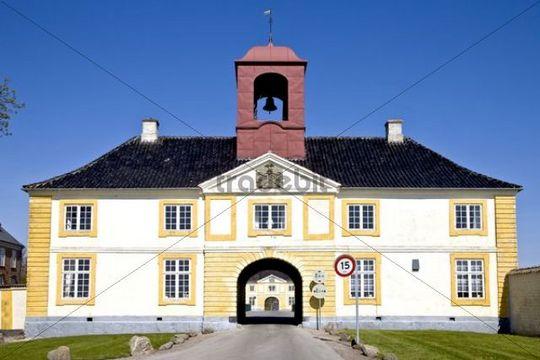 Valdemars castle at Troense, Taasinge, Denmark, Europe