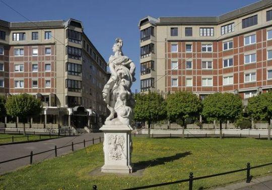 Dorotheenplatz, Dorothee Square, Leipzig, Saxony, Germany, Europe