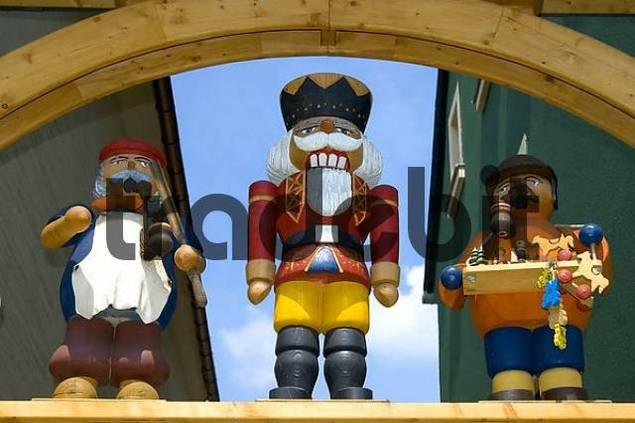 Nutcracker Christmas village Seiffen Germany