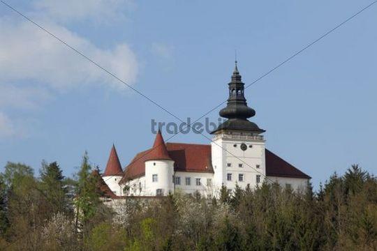 Weinberg Castle, Kefermarkt, Muehlviertel, Upper Austria, Austria, Europe