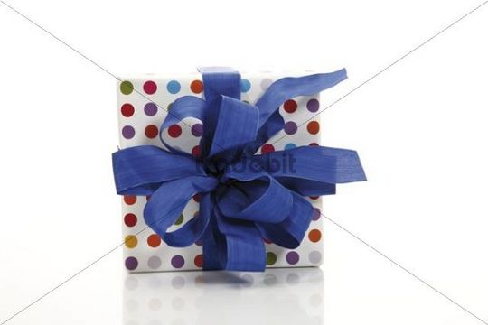 Present with a ribbon