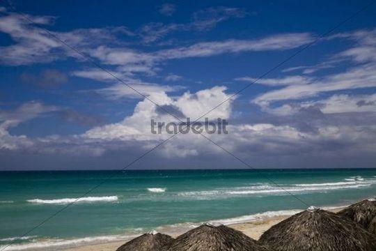 Beach and ocean at Varadero, Cuba