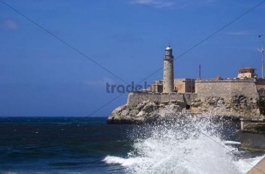 Castillo del Morro, lighthouse, Havana, Cuba