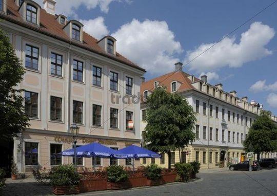 Koenigstrasse Street, Dresden, Saxony, Germany, Europe