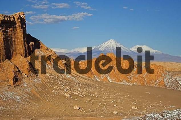Moon Valley Valle de la luna, Atacama desert, northern Chile, South America