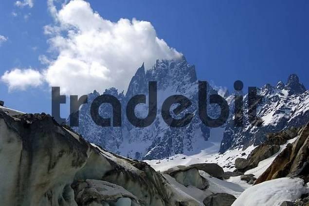 , Aiguille de la Republique, Aiguille des Grand Charmoz, Haute-Savoie France