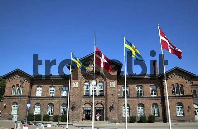 Ystad station, location of Wallander detective stories, Sweden