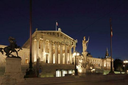 Parlament parliament, Vienna, Austria, Europe